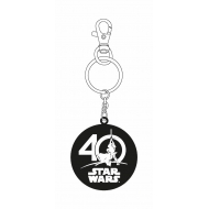 Star Wars - Porte-clés métal 40th Anniversary