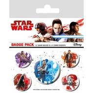 Star Wars Episode VIII - Pack 5 badges Icons
