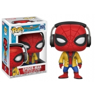 Spider-Man Homecoming - Figurine POP! Spider-Man (Headphones) 9 cm