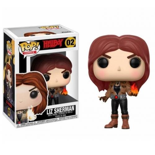 Hellboy - Figurine POP! Liz Sherman 9 cm