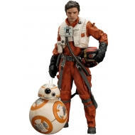 Star Wars Episode VII - Pack 2 statuettes 1/10 ARTFX+ Poe Dameron & BB-8 7 - 18 cm