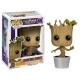 Les Gardiens de la Galaxie - Figurine POP! Bobble Head Dancing Groot 10 cm