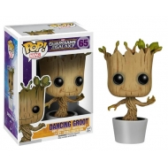 Les Gardiens de la Galaxie - Figurine POP! Bobble Head Dancing Groot 10 cm