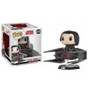 Star Wars Episode VIII - Figurine POP! Bobble Head Kylo Ren on Tie Fighter 10 cm