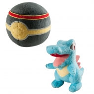Pokemon - Peluche Kaiminus avec Luxury Poke Ball 15 cm