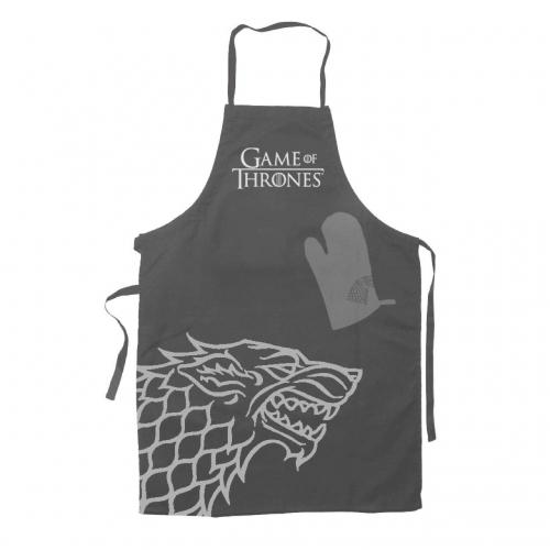 Game of Thrones - Tablier avec Gant Stark