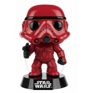 Star Wars - Figurine POP! Bobble Head Red Stormtrooper 9 cm