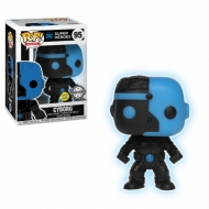 Justice League - Figurine POP! Cyborg Silhouette GITD 9 cm