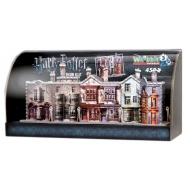 Harry Potter - Puzzle 3D Built-Up Demo avec presentoir vitrine Diagon Alley