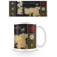 Game of Thrones - Mug Map
