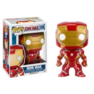 Captain America Civil War - Figurine POP! Bobble Head Iron Man 10 cm