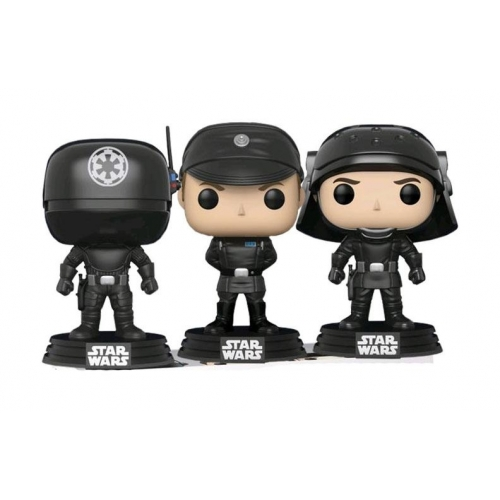 Star Wars - Pack 3 figurines POP! Gunner, Officer & Trooper 9 cm