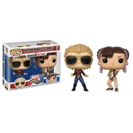 Marvel vs. Capcom Infinite - Pack 2 Figurines POP! Captain Marvel vs Chun-Li 9 cm
