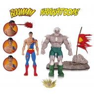 DC Comics Icons - Pack 2 figurines The Death of Superman 15 cm