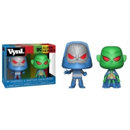 DC Comics - Pack 2 VYNL Figurines Martian Manhunter vs Darkseid 10 cm