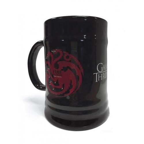 Game of Thrones - Chope céramique House Targaryen