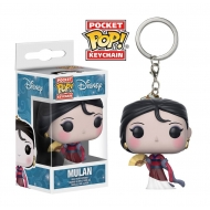Disney Princesses - Porte-clés Pocket POP! Mulan 4 cm