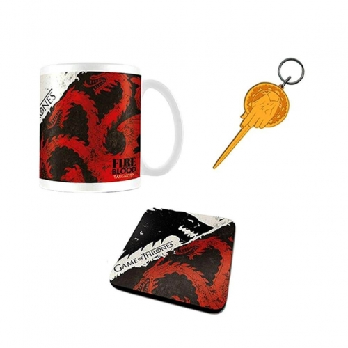 Game of Thrones - Coffret cadeau Stark & Targaryen