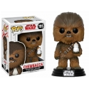Star Wars Episode VIII - Figurine POP! Bobble Head Chewbacca & Porg 9 cm