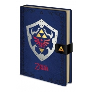 The Legend of Zelda - Carnet de notes Premium A5 Hylian Shield
