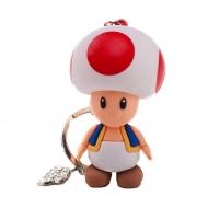 Nintendo - Porte-clés 3D Toad 7 cm