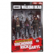 The Walking Dead - Pack 3 figurines Heroes 13 cm