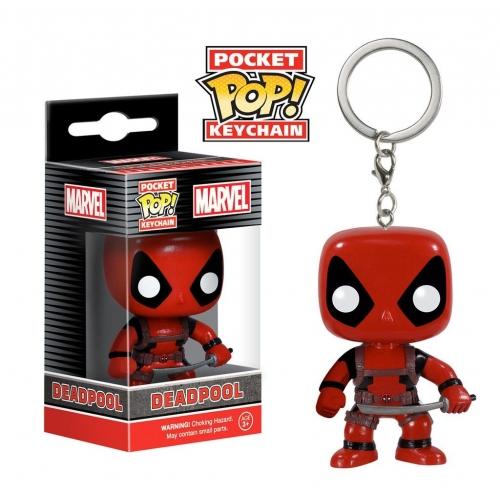 Marvel Comics - Porte-clés Pocket POP! Deadpool 4 cm