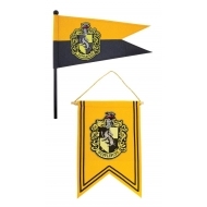 Harry Potter - Set bannière & drapeau Hufflepuff