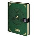 The Legend of Zelda - Carnet de notes Premium A5 Triforce New Version