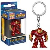 Avengers Infinity War - Porte-clés Pocket POP! Hulkbuster 4 cm