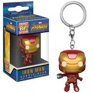 Avengers Infinity War - Porte-clés Pocket POP! Iron Man 4 cm