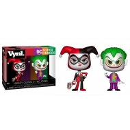 DC Comics - Pack 2 Figurines VYNL Harley & Joker 10 cm