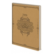 The Legend Of Zelda - Carnet de notes Flexi-Cover A5 Sage Symbols
