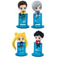 Sailor Moon - Pack 4 figurines Ochatomo Series Three Lights 5 cm