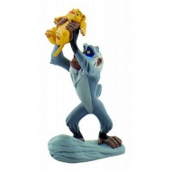 Le Roi Lion - Figurine Rafiki avec Simba 10 cm