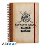 Harry Potter - Cahier Hogwarts School
