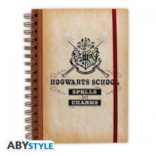 Harry Potter - Cahier Hogwarts School