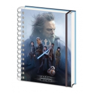 Star Wars Episode VIII - Cahier à spirale A5 Cast
