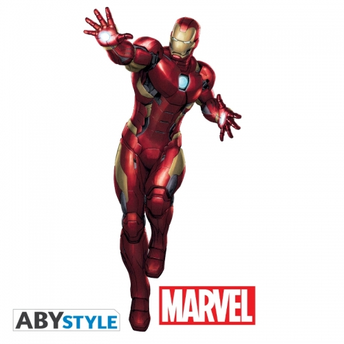 Marvel - Stickers échelle 1 Iron Man