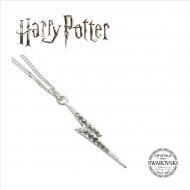 Harry Potter - Pendentif et collier X Swarovksi Lightning Bolt