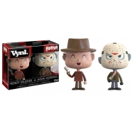 Freddy vs. Jason - Pack 2 VYNL figurines Freddy & Jason 10 cm
