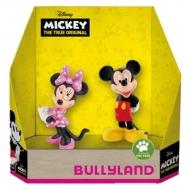 Disney - Pack 2 figurines Mickey The True Original 8 - 10 cm