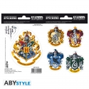 Harry Potter - Stickers Maisons Poudlard