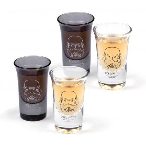 Star Wars - Set 4 verres à liqueur Original Stormtrooper