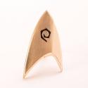 Star Trek Discovery - Réplique 1/1 Starfleet badge magnétique Operations Division