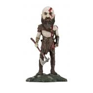 God of War - Figurine 2018 Head Knocker Kratos 22 cm