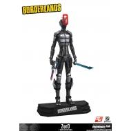 Borderlands - Figurine Zer0 18 cm
