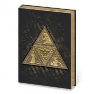 The Legend of Zelda - Carnet de notes Premium A5 Metal TriForce