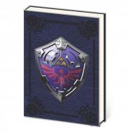The Legend of Zelda - Carnet de notes Premium A5 Metal Shield