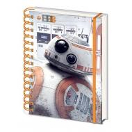 Star Wars Episode VIII - Cahier à spirale A5 Wiro BB-8